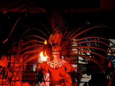 If you are in #OasisCancun, Don't miss our pre hispanic show tonight at 20:00hrs. at the Grand Pyramid.