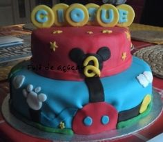 Micky Maus Wunderhaus Torte Bolo Mickey, Club, House, Fondant Cakes, Haus, Homes, Home