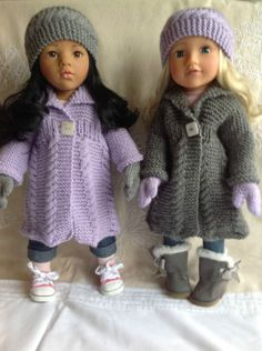 Dolls-Fashion-clothes-knitting-pattern-18-doll-Will-fit-Gotz-American-Girl