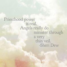 Priesthood power is