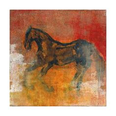 Le Cheval 2 Giclee Print by Maeve Harris at Art.com