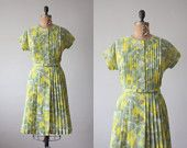 vintage dress from the 50's...but current now!!!!