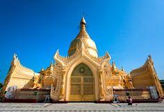 Maha Wizaya Pagoda in Yangon