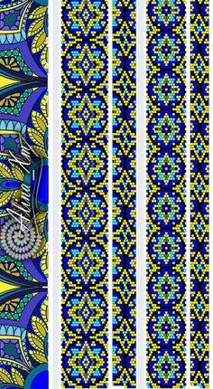 ✜ Жгуты из бисера ✜ Вязание с бисером ✜ Схемы ✜