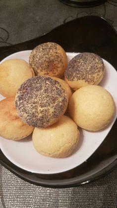 Petits pains ronds au moule dômes