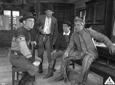 Scene from a Finnish silent movie version of play Pohjalaisia (1925)