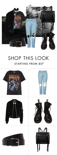 """""""#9"""" by makeemwhistle on Polyvore featuring мода, Trunk LTD, Topshop, Givenchy, Dr. Martens, Hermès, McQ by Alexander McQueen и Miss Selfridge"""