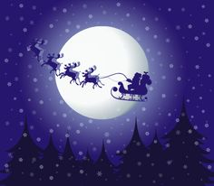 Christmas eve Vector Graphic