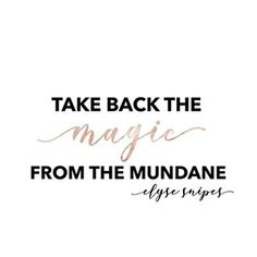 """On being mindful in the moments—even the muddy, messy, mundane ones. From the """"Let's Get Lost"""" episodes—one of my favorite podcasts with Elyse Snipes. Lost Episodes, Take Back, Mindfulness, Let It Be, In This Moment, My Favorite Things, Words, Instagram, Horse"""