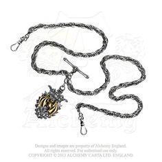 AWC2 - Magistus' Double-Albert Fob Chain