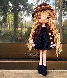 GN #amigurumi #cute #crochet #handmade #girl #gift #jibsoya