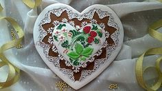 """Gingerbread Heart """"Khokhloma""""   Cookie Connection"""