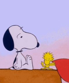 Love: Snoopy and Woodstock
