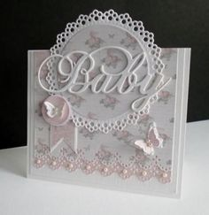 handmade baby cards ideas | Found on splitcoaststampers.com       Wendy Schultz ~ Baby Cards.