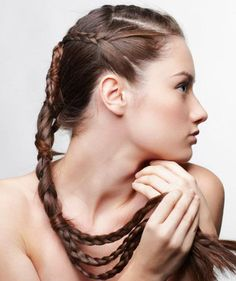 Easier braids than it looks, and darling too!
