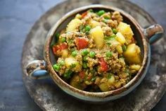 Curried Ground Turkey with Potatoes   15 Healthy Ground Turkey Recipes   https://homemaderecipes.com/15-healthy-ground-turkey-recipes/