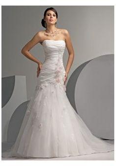 schöne herrliche Sommer trägerlose Brautkleider 2012