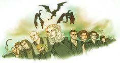 Targaryen Armada by agamarlon.deviantart.com on @DeviantArt
