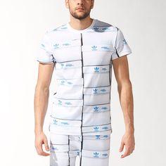 JEREMY SCOTT X ADIDAS Shoe Box TEE SHIRT White Multi S07179 FREE SHIPPING #AdidasJeremyScott #TeeShirt