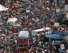Traffic in Dhaka is unlike any other place on earth. Fact.