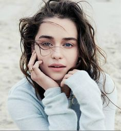 Emilia Clarke for the March Wall Street Journal