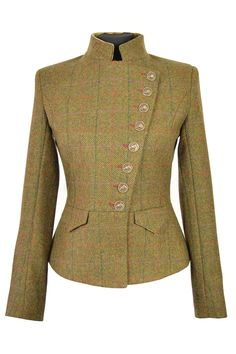 Lieutenant Jacket Kilda tweed - So in love with all the Great Scot stuff.  But this jacket in particular.