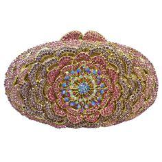 Luxury Diamond Crystal Evening Bags Ladies Party Purse Bags Prom Clutch Bag Women Wedding_9     https://www.lacekingdom.com/