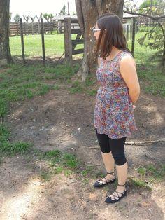 Blog Femina - Modéstia e Elegância: Legging corsário, sobrelegging e sapatilha inspirada em ballet