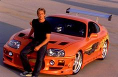 Paul Walker's Toyota Supra from Fast & Furious