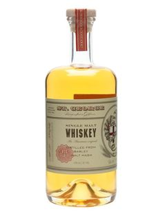 A bottle of single malt whisky from Californian based St. George distillery, founded in 1982.  The distillery has stocks of bourbon, French oak, port and sherry casks and this 2013 edition was blen...
