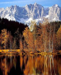 Schwarzsee bei Kitzbühel, Austria