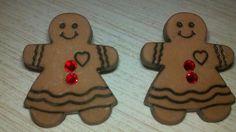 Gingerbread Lady Earrings by Shelithas on Etsy, $8.99
