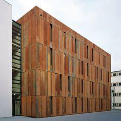 *레드 코르텡 스틸강 파사드 [ Scheidt Kasprusch ] Haus der Essener Geschichte simplypi:[ Scheidt Kasprusch ] Haus der Essener Geschichte