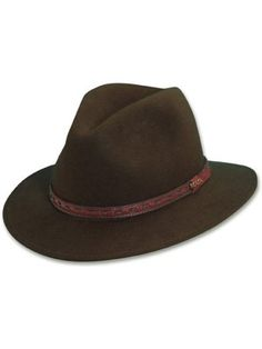 0a7a0ca1bbc Scala Decatur - Soft Wool Felt Fedora Hat