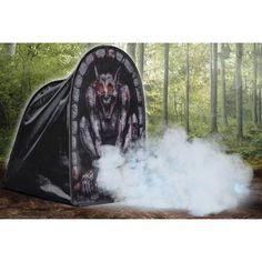 Tombstone Gargoyle Foggy Halloween Decoration - Walmart.com