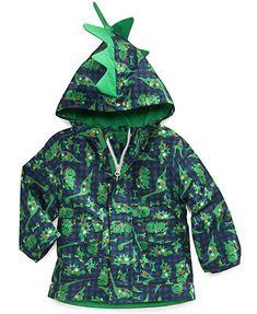 6dad4b7ac London Fog Baby Boys' Dinosaur Rain Coat & Reviews - Kids - Macy's