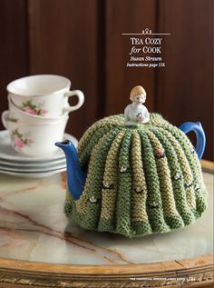 You will find The Unofficial Downton Abbey Knits 2014 on the magazine rack.