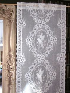 Lace Curtains Curtain Panels Antique S Cotton