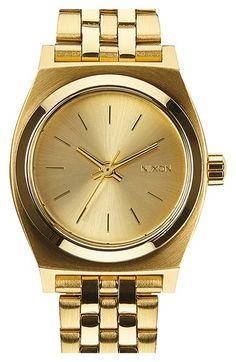 Nixon 'The Small Time Teller' Bracelet Watch, 26mm | Nordstrom