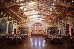 Wedding reception at Jacuzzi Winery