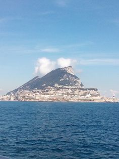 Gibraltar from the sea ♥