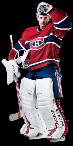 Carey Price - Canadiens de Montréal Go Habs Go ! Goalie Pads, Hockey Goalie, Hockey Games, Hockey Mom, Goalie Gear, Hockey Stuff, Montreal Canadiens, Mtl Canadiens, Sports Picks