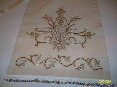 Neşe'nin gözdeleri Wedding Embroidery, Gold Embroidery, Embroidery Needles, Hand Embroidery Designs, Embroidery Dress, Gold Work, Bargello, Cutwork, Design Elements