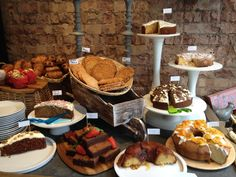 Delicious cakes Megan's Deli and Restaurant on King's Road.