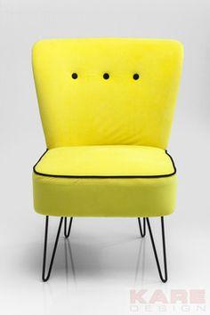 Sessel Florida Yellow  #sunshine #kare #design #moebel #gelb #sommer #wien #austria #sessel