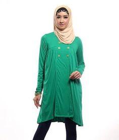 eb6eea19f237ffa7eb9d308b05f54526 pose foto kumpulan baju gamis untuk orang gemuk,model baju gamis untuk orang gemuk,Model Busana Muslim Casual