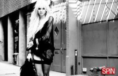 Goth - ish Taylor Momsen.  Like her style