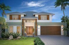 GJ Gardner Home Designs: Twin Waters Facade 1. Visit www.localbuilders.com.au/builders_queensland.htm to find your ideal home design in Queensland