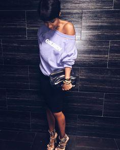 I'm a golden child . Great times w the ladies 📷 Black Girl Fashion, Look Fashion, Autumn Fashion, Urban Fashion, Chic Outfits, Fashion Outfits, Fashion Trends, Fashion Ideas, Types Of Fashion Styles