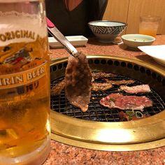 お疲れ様です🍻🍖 最近毎日食べたい。お誘いお待ちしております。#焼き肉#焼肉#肉#肉食系#肉食系男子#yakiniku#japanesefood #food#dinner#beer#yum#yummy#delicious #kirin